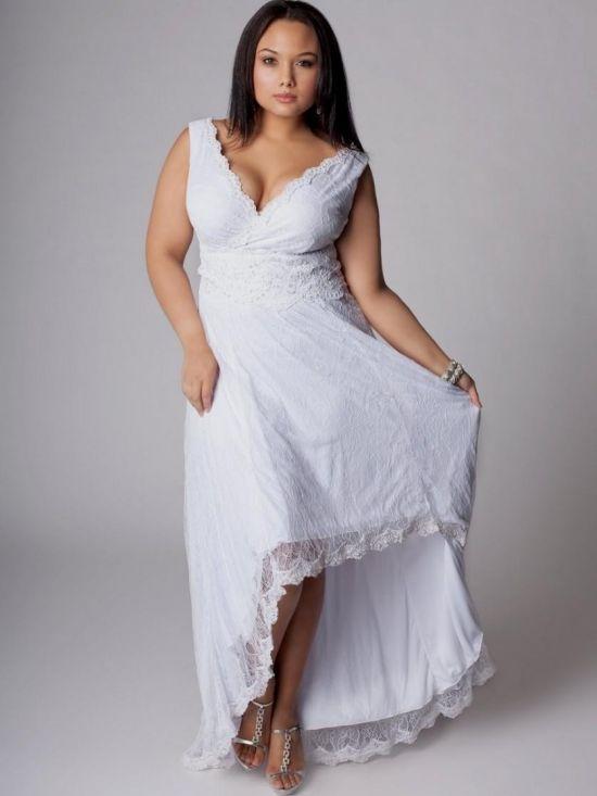 plus size white lace dress 2016-2017 | B2B Fashion