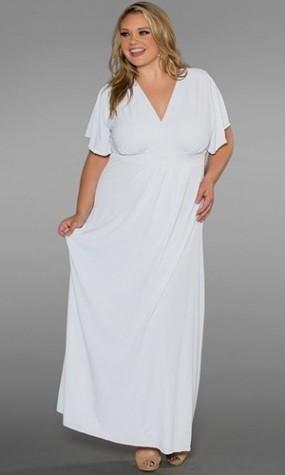plus size white maxi dresses 2016-2017 » B2B Fashion
