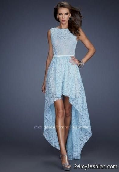 powder blue cocktail dress 2016-2017 | B2B Fashion
