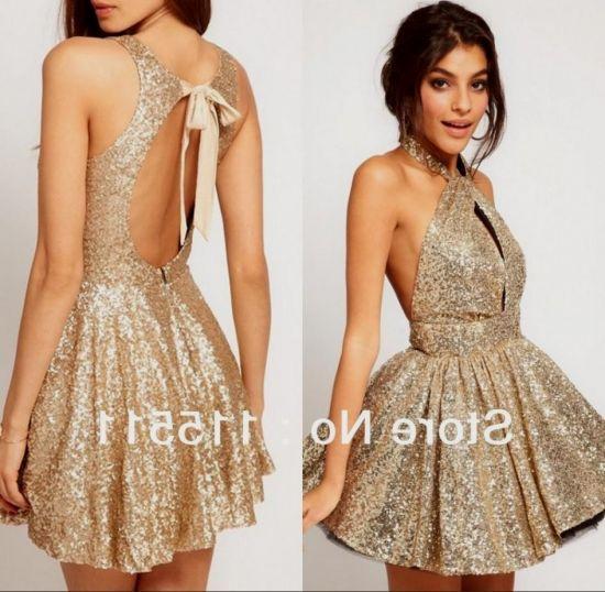 Pretty gold prom dresses - Fashion dresses