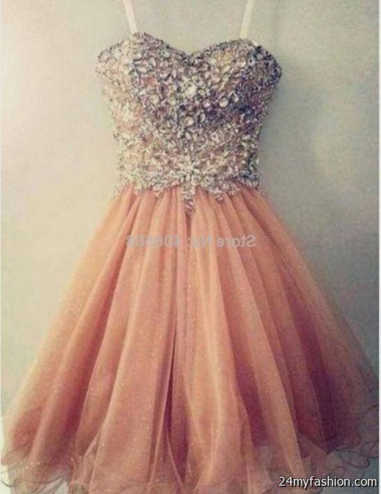 Skater style prom dresses