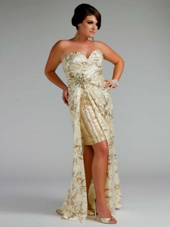 Prom Dresses Plus Size High Low 2016 2017 B2b Fashion