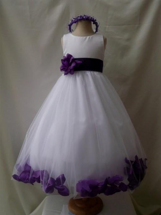Purple and white flower girl dresses 2016 2017 b2b fashion you can share these purple and white flower girl dresses on facebook stumble upon my space linked in google plus twitter and on all social networking mightylinksfo