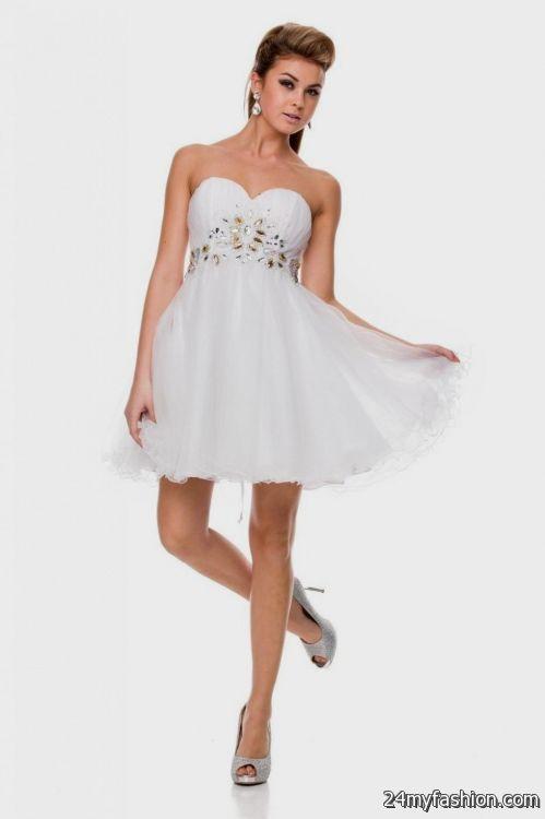purple and white sweet 16 dresses short 20162017 b2b