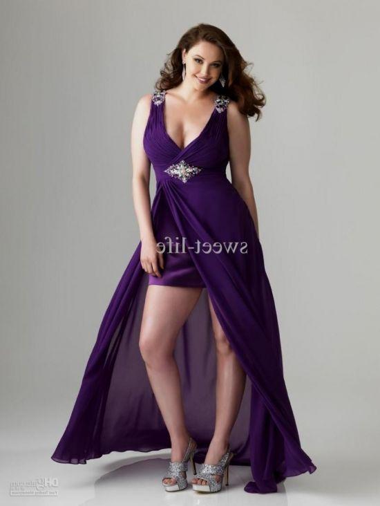 Purple bridesmaid dresses plus size 2016 2017 b2b fashion for Purple summer dresses for weddings