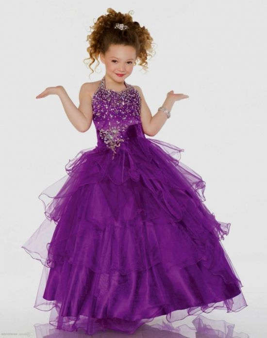purple dresses for little girls 2016-2017 | B2B Fashion