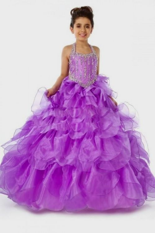 Purple Dresses For Little Girls 2016 2017 B2b Fashion