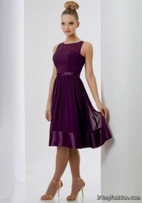 purple dresses for wedding guests 2016-2017 | B2B Fashion