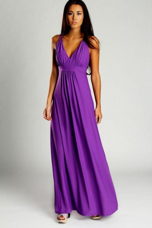 purple maxi dress 2016-2017 » B2B Fashion