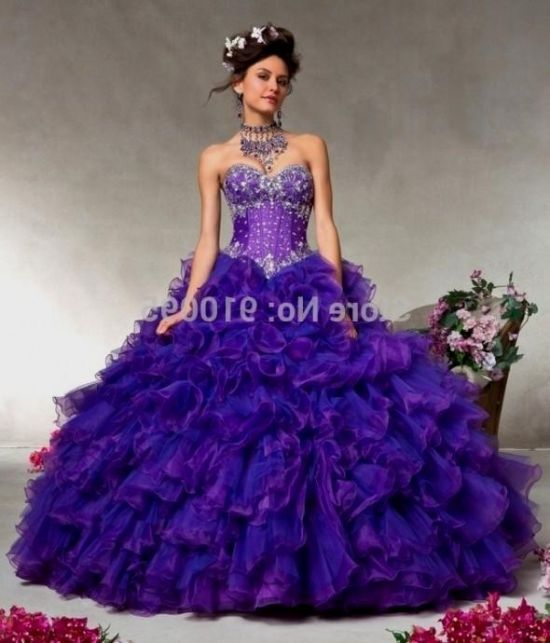 purple puffy quinceanera dresses 2016-2017 | B2B Fashion