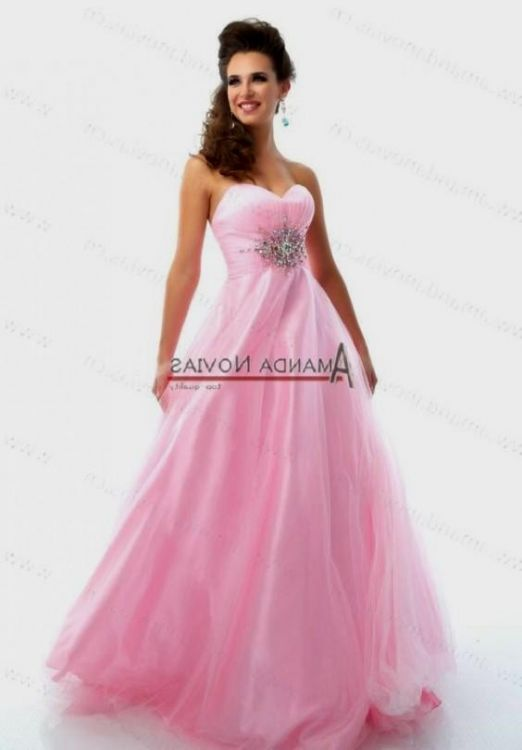 aa8a650a017 Browse our beautiful collection of long prom dresses and short prom dresses!  You can share these quinceanera dresses light pink puffy on Facebook ...