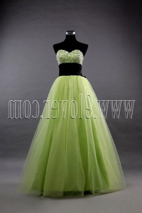 quinceanera dresses lime green and black 2016-2017 » B2B Fashion