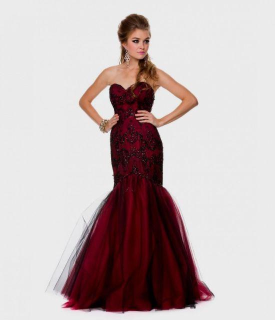 red and black mermaid dress 2016-2017 » B2B Fashion