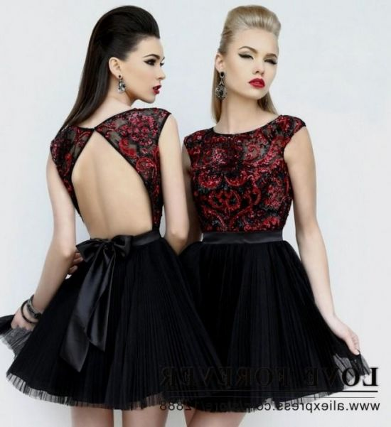red and black party dresses for teenagers 20162017 b2b