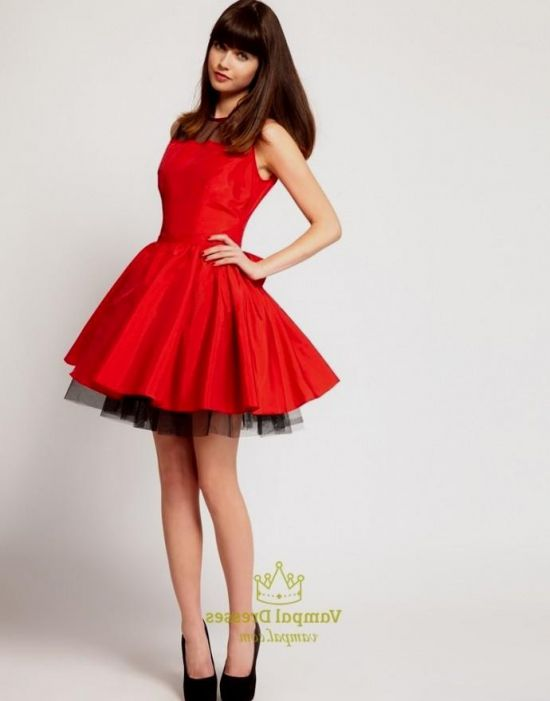 Red And Black Party Dresses For Teenagers Looks B2b Fashion
