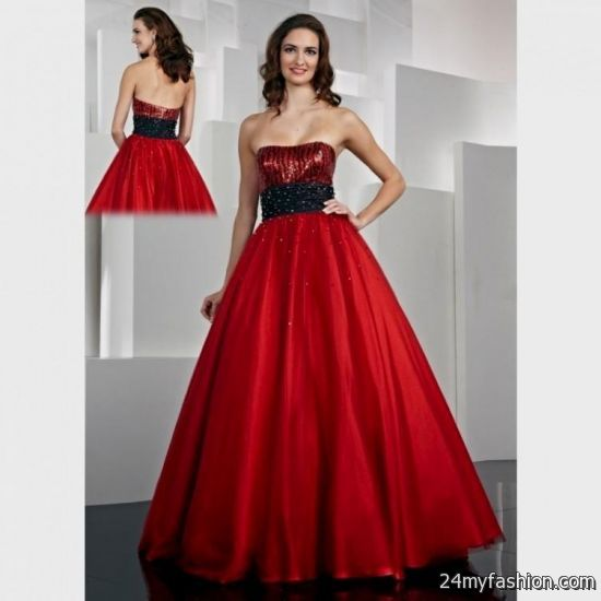 red and black short prom dresses 2016-2017 | B2B Fashion
