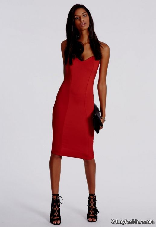 1a328a71ab65fe You can share these red bodycon dress outfit on Facebook