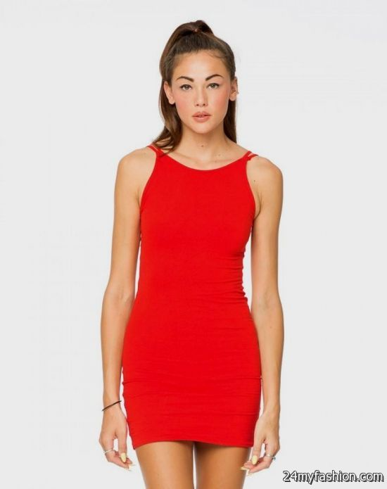 red bodycon tank dress 2016-2017 » B2B Fashion