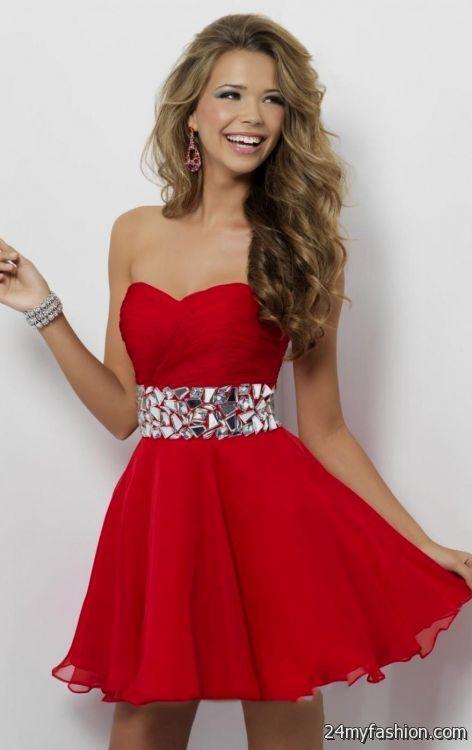 Red Christmas Dresses For Juniors Looks B2b Fashion