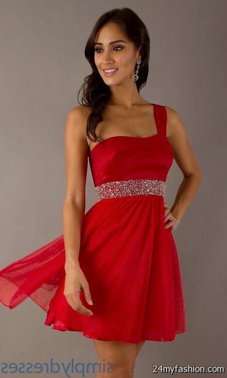 Short Red Dresses for Juniors