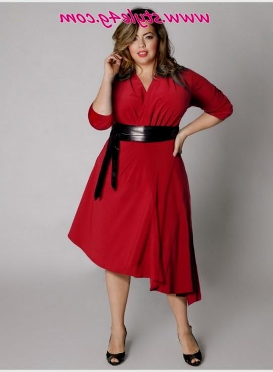 Red Dresses For Plus Size Women 2016 2017 B2b Fashion