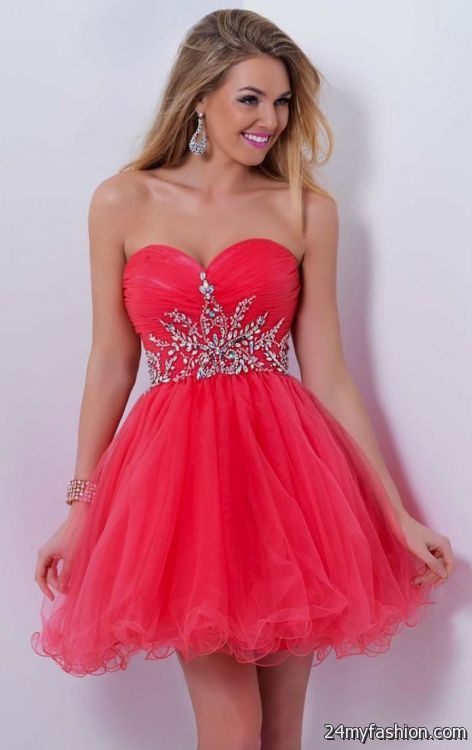 Red Party Dress for Juniors