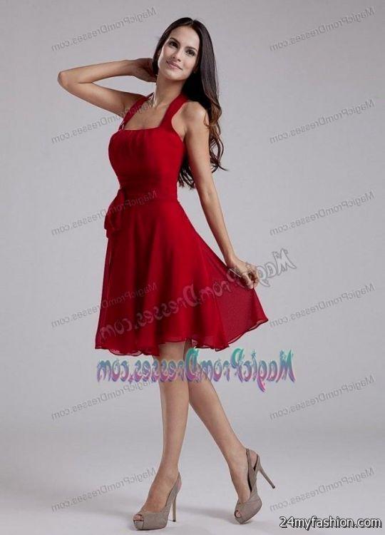 Red Semi Formal Dresses 2016 2017 B2b Fashion