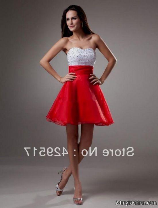 Red Semi Formal Dresses for Juniors