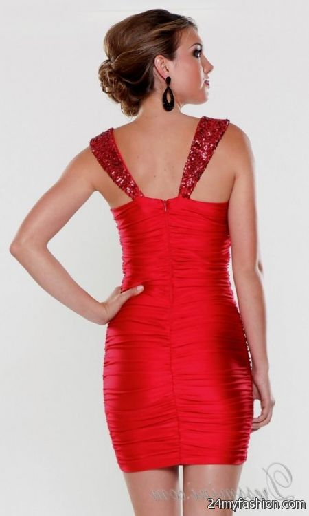 881c38aa028 You can share these red short tight homecoming dresses on Facebook