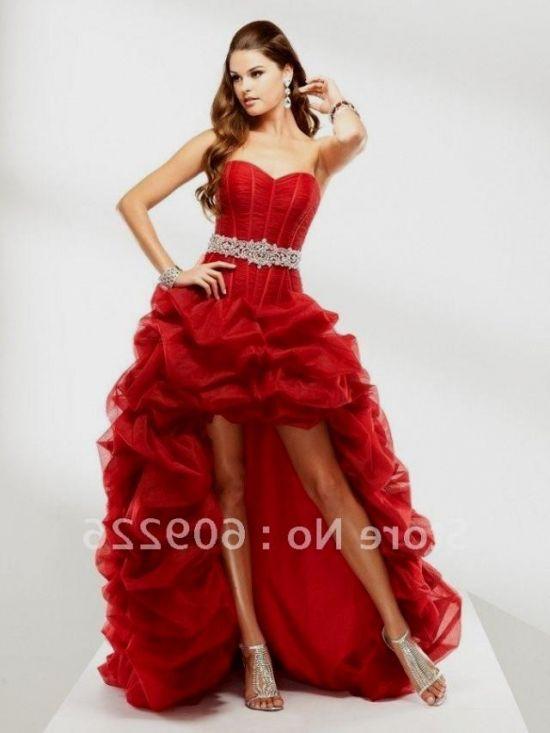 red sweetheart prom dress short 2016-2017 » B2B Fashion