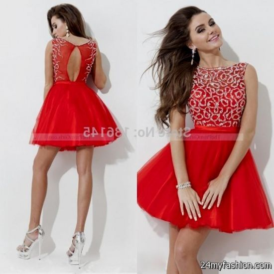 red winter formal dresses juniors 2016-2017 » B2B Fashion