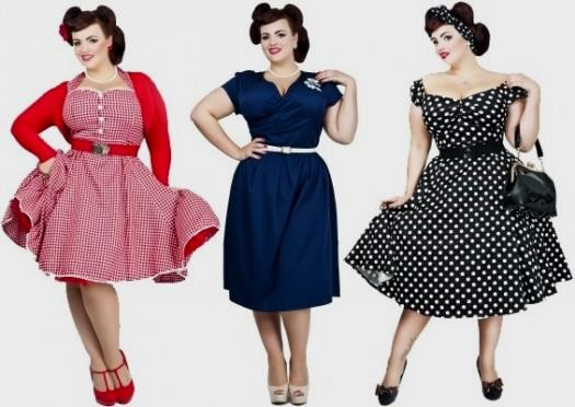 retro plus size dresses 2016-2017 » B2B Fashion