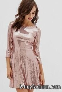 b37f677f You can share these rose gold sequin dress forever 21 on Facebook, Stumble  Upon, My Space, Linked In, Google Plus, Twitter and on all social  networking ...