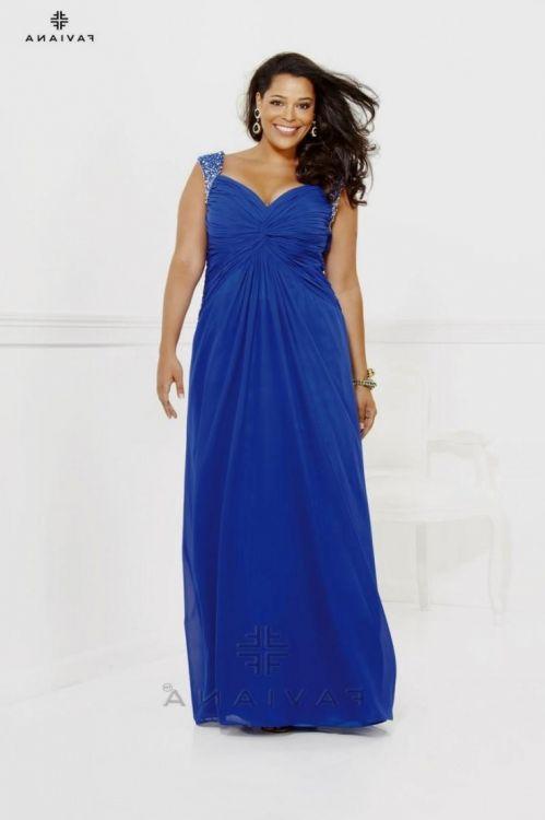 Royal blue bridesmaid dresses plus size 2016 2017 b2b for Royal blue plus size wedding dresses