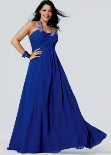 Royal blue bridesmaid dresses plus size 2016 2017 b2b for Blue wedding dresses plus size