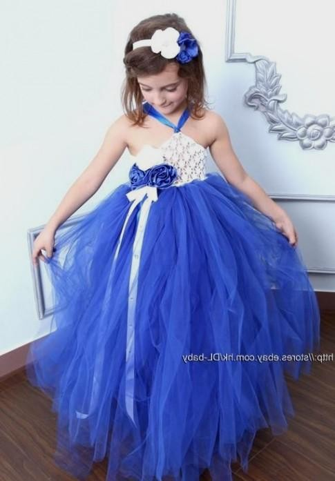 royal blue dresses for little girls 20162017 b2b fashion