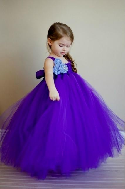 Royal Blue Dresses For Little Girls Looks B2b Fashion