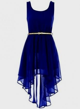 Royal blue dresses for teenagers 2017