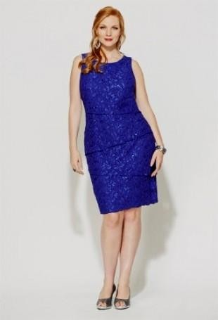99380f968a3cc Our trendy plus size dresses bring the affordable styles you and your  closet crave. You can share these royal blue ...