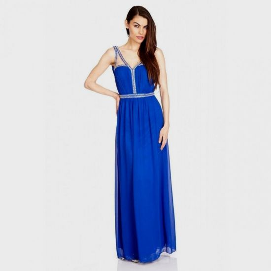maxi dress royal blue 21