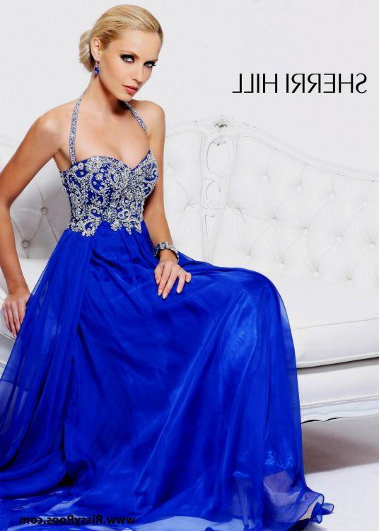 Royal Blue Sherri Hill Prom Dresses Looks B2b Fashion