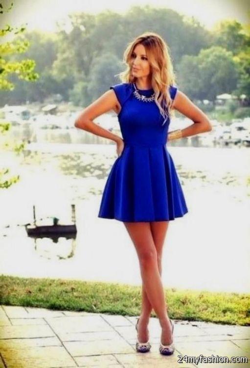 innovative outfit dress blue size