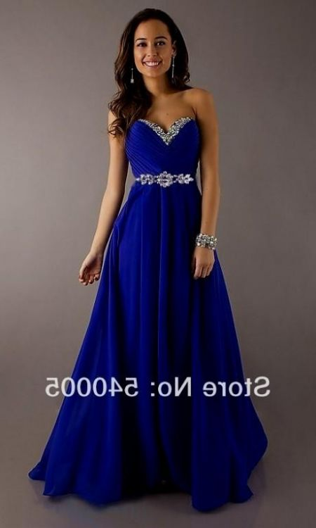 You Can Share These Royal Blue Wedding Dresses Plus Size On Facebook