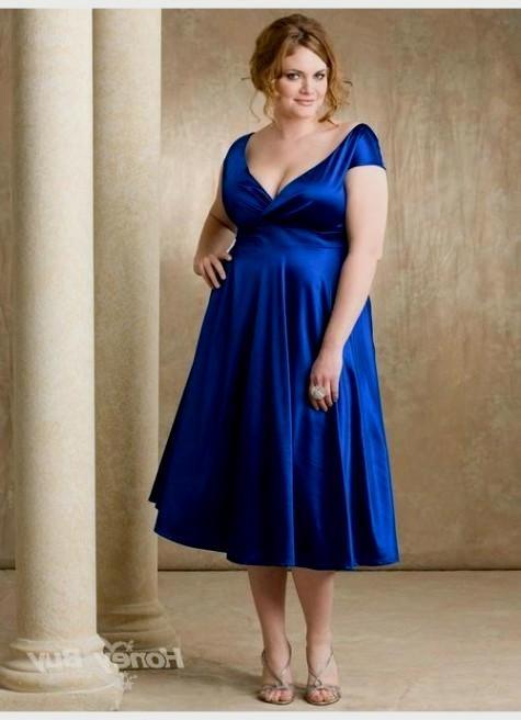 Royal Blue Wedding Dresses Plus Size 2016 2017 B2B Fashion