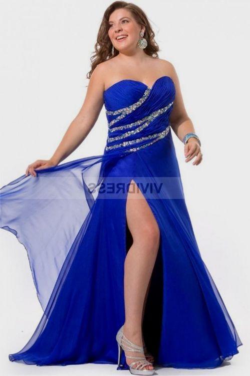 Royal Blue Wedding Dresses Plus Size Looks B2b Fashion