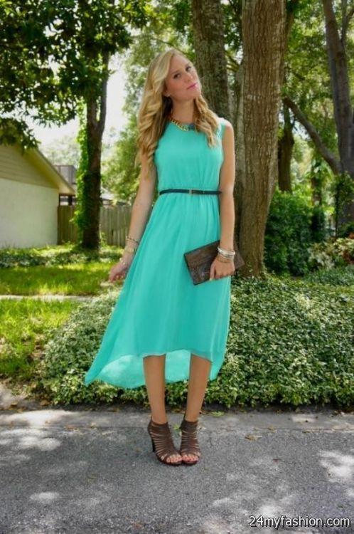 Seafoam Green Dress Forever 21 Looks B2b Fashion