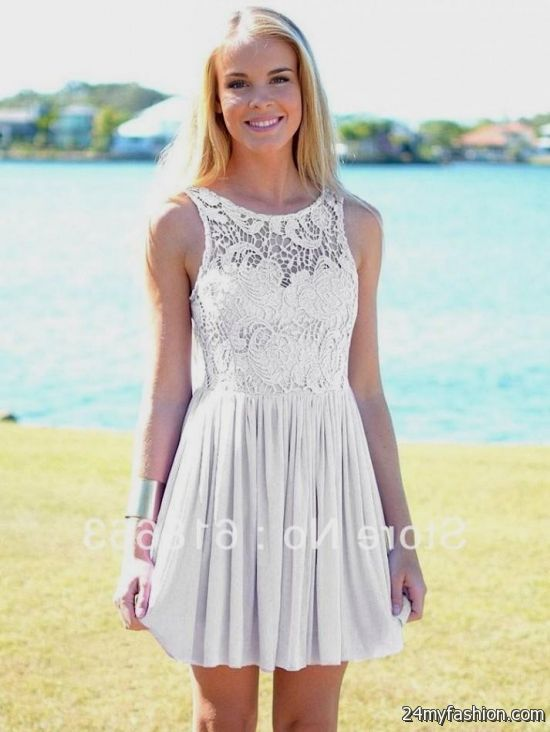 Semi Formal Dress Lace 2016 2017 B2b Fashion