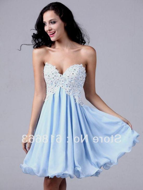 Semi Formal Dresses For 8th Graders Blue 2016 2017 B2b Fashion