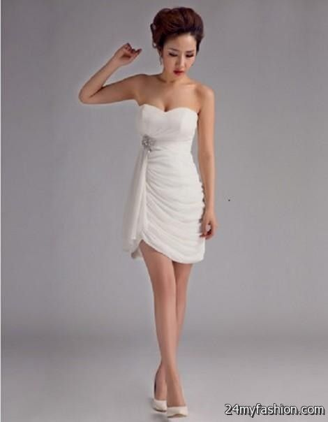 You Can Share These Sexy Short Beach Wedding Dresses On Facebook Stumble Upon My Space Linked In Google Plus Twitter And All Social Networking Sites