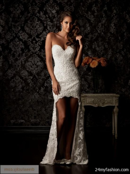 You Can Share These Sexy Short Lace Wedding Dress On Facebook Stumble Upon My Space Linked In Google Plus Twitter And All Social Networking Sites